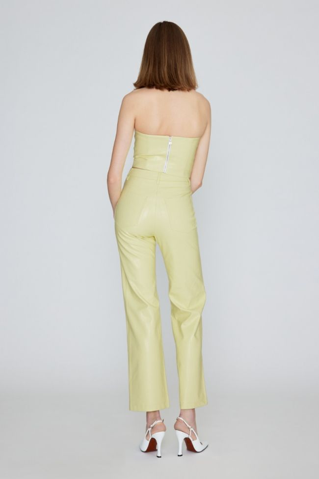 Rotie PU Pants Green